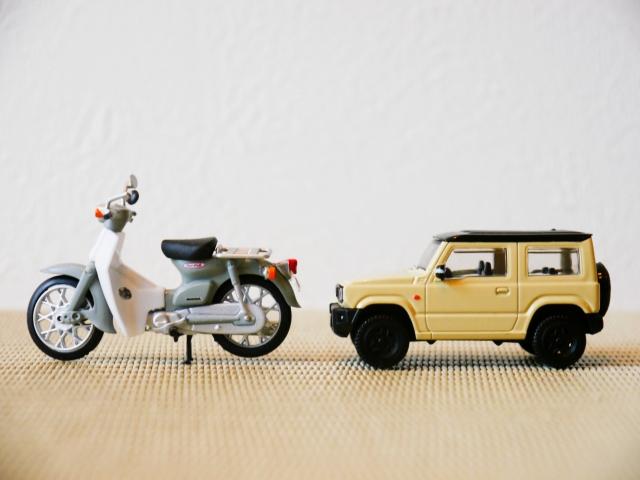 バイク 車